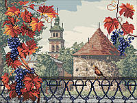 Вишивка бісером картини Порохова вежа