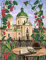 Вишивка бісером картини Домініканський собор