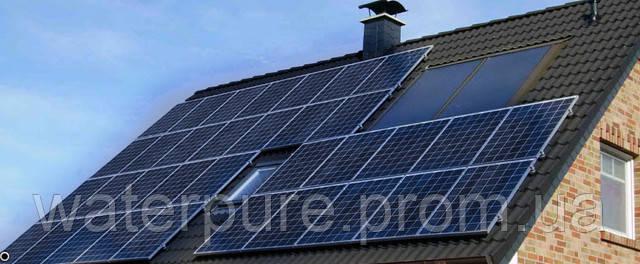 Цена солнечных батарей в Украине.