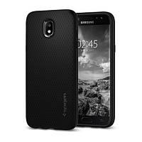 Накладка для Samsung Galaxy J530 J5 2017 пластик Spigen Liquid Air Чорний (584CS21802)