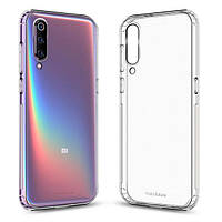 Накладка для Xiaomi Mi 9 силикон MakeFuture Air Case Clear (MCA-XM9)