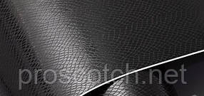 Пленка под кожу Змеи черного цвета, 1,52м