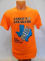 Мужская футболка JERZEES оранжевая