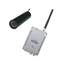 Комплект из беспроводной инспекционной камеры WE800A на 2.4 Ghz + приёмник видеосигнала (модель CRP-800 kit), фото 1