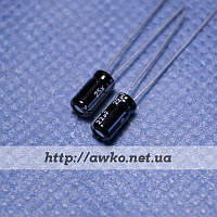 Конденсатор 25V 22uF (105°C) Chang