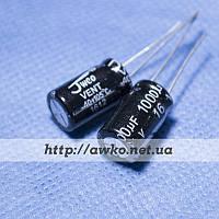 Конденсатор 16V 1000uF (105°C) JWCO