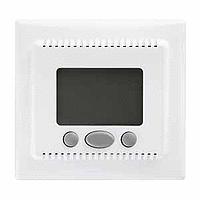 SDN6000221. Термостат 16А, макс. мощность 3680Вт. Только одиночная установка. Белый. Sedna