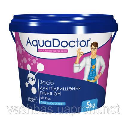 PH+ Plus Granules, 50 кг средство для повышения уровня Ph воды. Химия для бассейна AquaDoctor