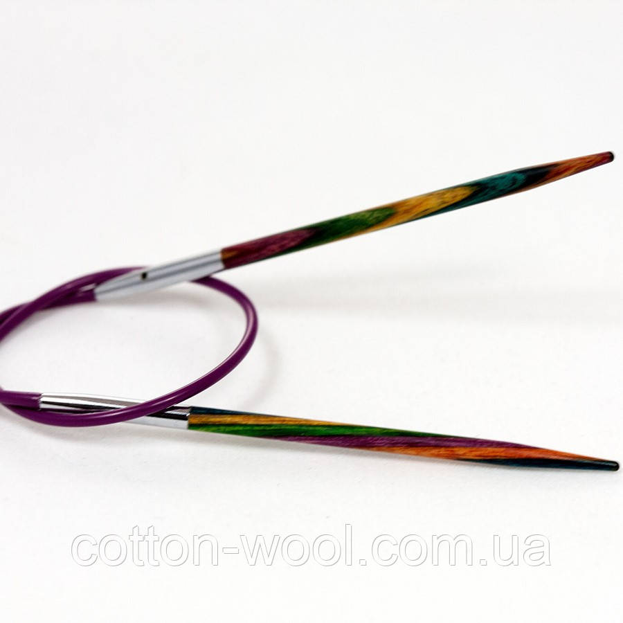 Спиці кругові 40 см  Symfonie Wood KnitPro 8,0
