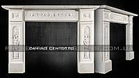 Каминный портал из мрамора Camino CENTOTTO.