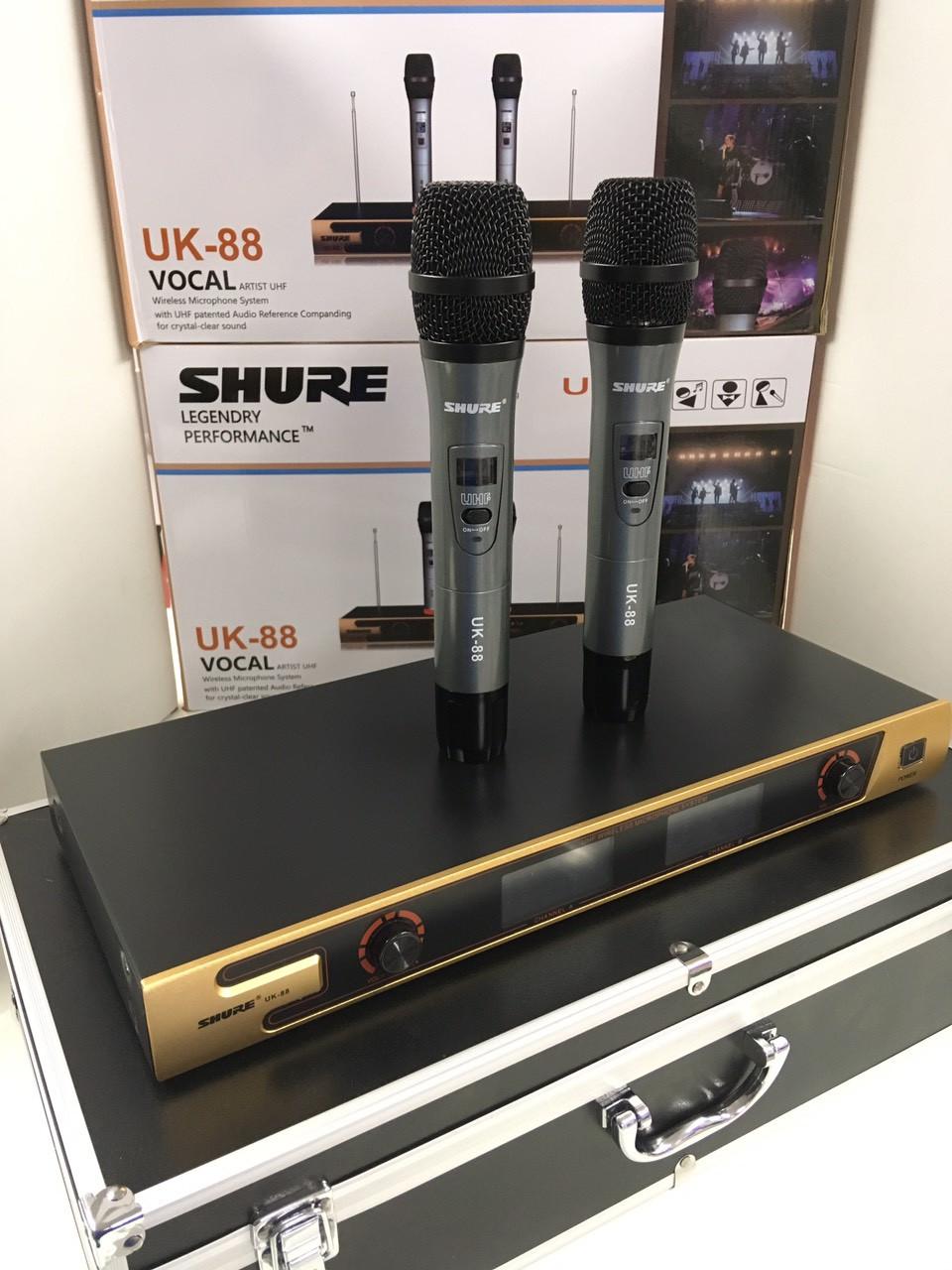 Радиосистема SHURE UK-88, 2 радиомикрофона + база