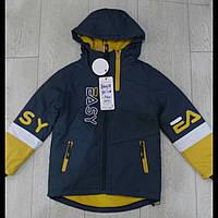 Демисезонные   детские куртки для мальчиков оптом GRACE