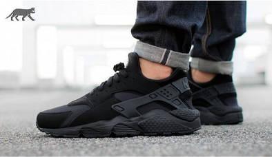 Кроссовки унисекс Nike Air Huarache Black