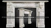 Каминный портал из мрамора Camino CENTONOVE.