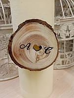 Декор на серветки, свічки до весілля, фото 1