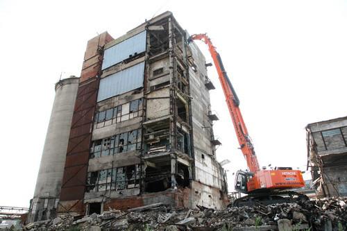 Демонтаж заводов, фабрик и цехов