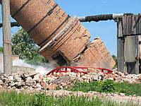 Демонтаж дымовых труб