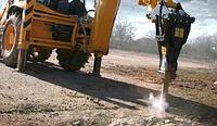 Демонтаж дорожного покрытия