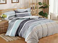 """Семейное постельное бельё с простыней на резинке (12095) хлопок """"Ранфорс"""", фото 1"""