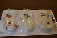 Носочки для девочки с ягодками 0-3 мес.