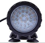 Подводный мультицветной прожектор с пультом ДУ 2х36 LED RGB, фото 2