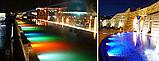 Подводный мультицветной прожектор с пультом ДУ 2х36 LED RGB, фото 3