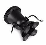 Подводный мультицветной прожектор с пультом ДУ 2х36 LED RGB, фото 5