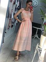 Летнее платье прошва сарафан прошва размер с-м сарафан прошва миди