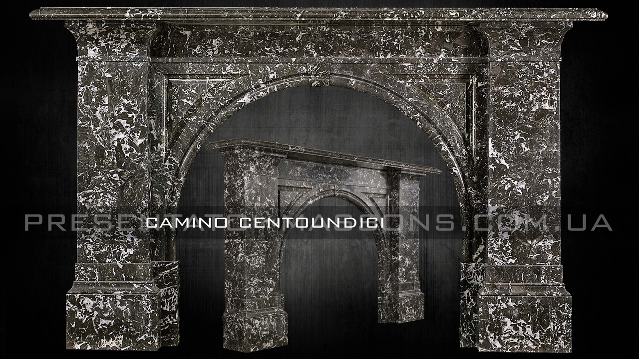 Мраморный камин Camino CENTOUNDICI
