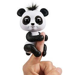 Интерактивная панда Fingerlings - Дрю (бело-черная).  Glitter Panda - Drew, White & Blac (3560/3564), 5+