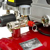 Компрессор 24 л, 1.5 кВт, 220 В, 8 атм, 206 л/мин. INTERTOOL PT-0009, фото 1