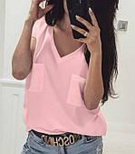 Літня легка жіноча блуза