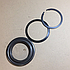 Ремкомплект сцепления 182-184 (кольцо стопорное,упорное, шайба) 182-1601002-05, фото 2