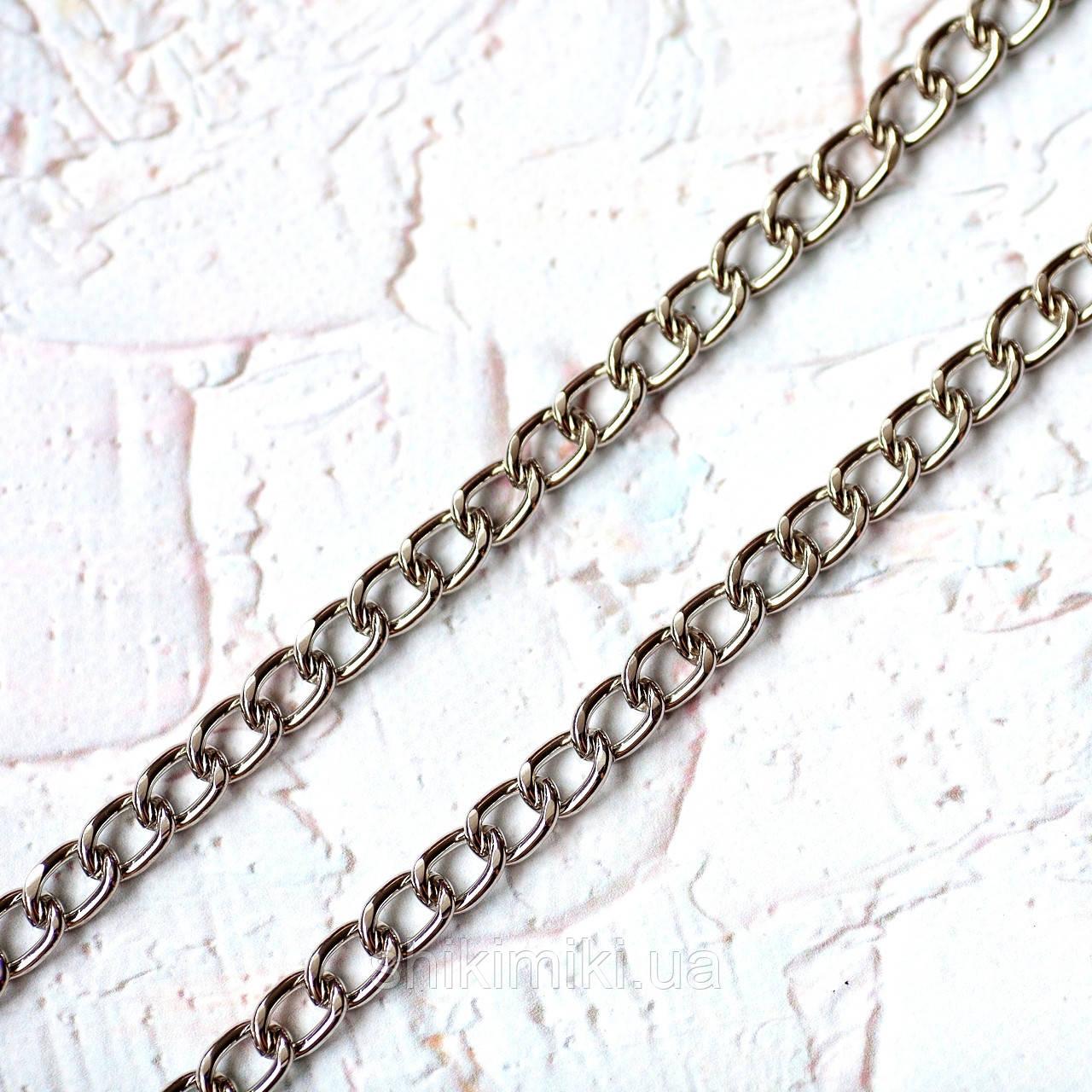 Цепочка для сумки крупная Z21-1, цвет никель