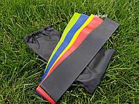 Резинка для фитнеса и спорта (лента эспандер) эластичная набор 5шт OSPORT Profi (MS 1967)