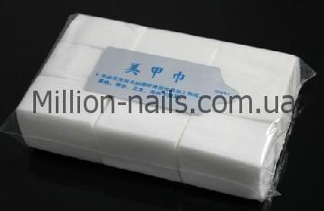 Серветки безворсові в упаковці 1000 штук