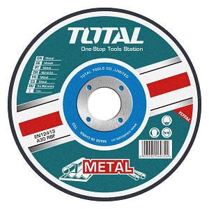 Абразивный режущий диск по металлу Total  TAC2211152  115х3.2х22.2мм.