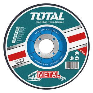 Круг отрезной по металлу TOTAL TAC2211251 , 125х3.0х22.2м