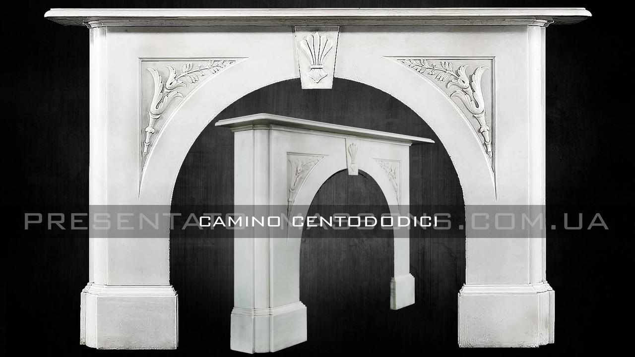 Мраморный камин Camino CENTODODICI