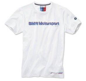 Мужская футболка BMW Motorsport Fan T-Shirt, men, White