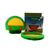 Игра для детей на улице, альтернатива бадминтону Snap&Catch зеленая