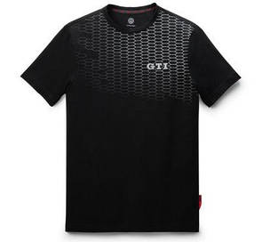 Мужская футболка Volkswagen GTI T-Shirt, Cell Print, Men's, Black