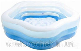 Надувной детский бассейн Intex 185х180х53 см