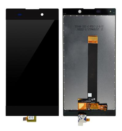 Дисплей (экран) для Sony H4311 Xperia L2 с сенсором (тачскрином) черный, фото 2