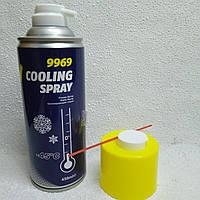Аэрозольный спрей для заморозки и охлаждения деталей Mannol Cooling Spray