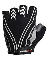 Велоперчатки PowerPlay 5007D M Black