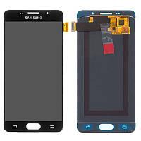 Дисплей для Samsung A510 Galaxy A5 (2016), модуль в сборе (экран и сенсор), OLED, фото 1