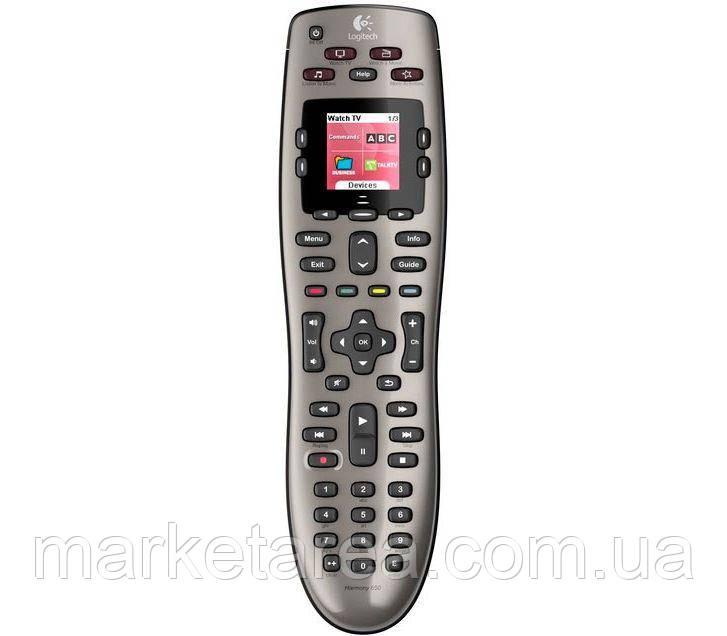 Универсальный пульт ДУ Logitech Harmony 650 для SmartTVl