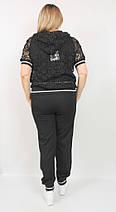 Женский костюм - тройка, пр-во Турция  48-52р  черный, фото 3
