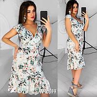 Женское стильное платье  АЦ2014 (бат), фото 1